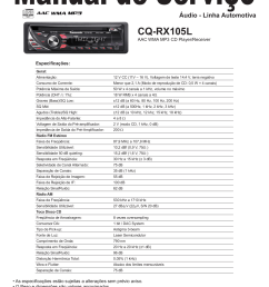 download free pdf for panasonic cq rx100u car receiver manual on sony stereo wire harness  [ 1241 x 1654 Pixel ]