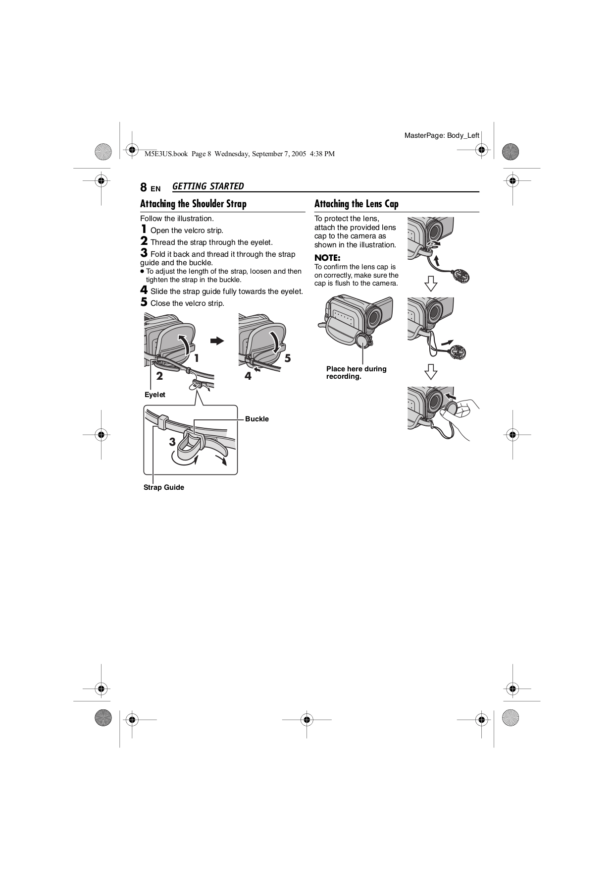 PDF manual for JVC Camcorders GZ-MG30