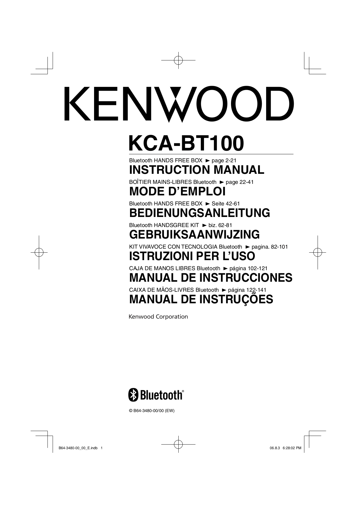 Download free pdf for Kenwood KDC-122 Car Receiver manual