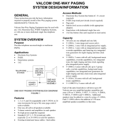 Valcom Paging Horn Wiring Diagram Rj45 Connector Download Free Pdf For V9940 Adapters Other Manual