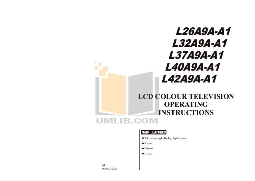 Download free pdf for Haier L32A9A-A1 TV manual