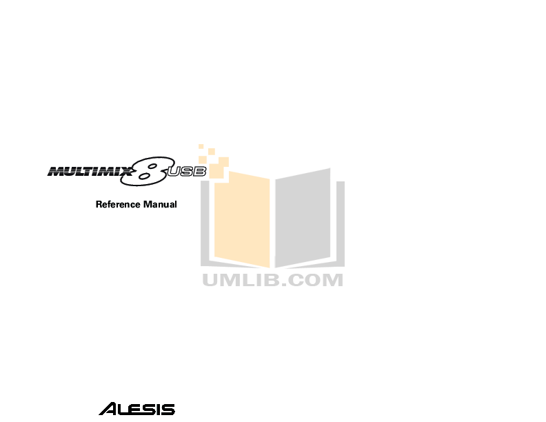 Download free pdf for Alesis RoadFire 15 Guitar manual