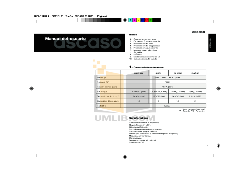 ASCASO DREAM MANUAL PDF DOWNLOAD