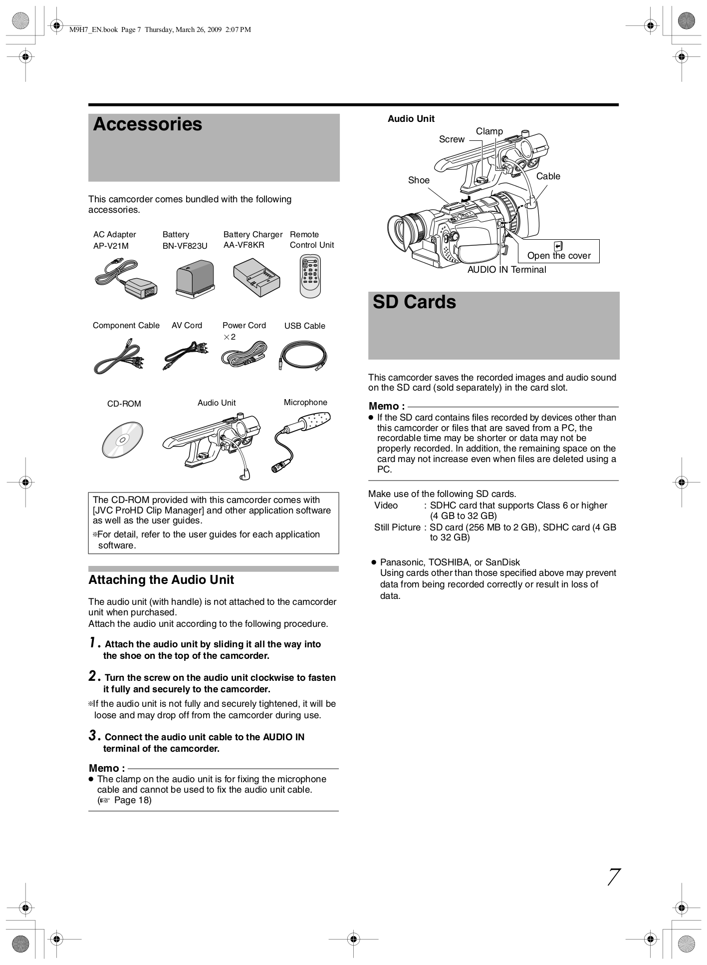 GY HD100 MANUAL PDF