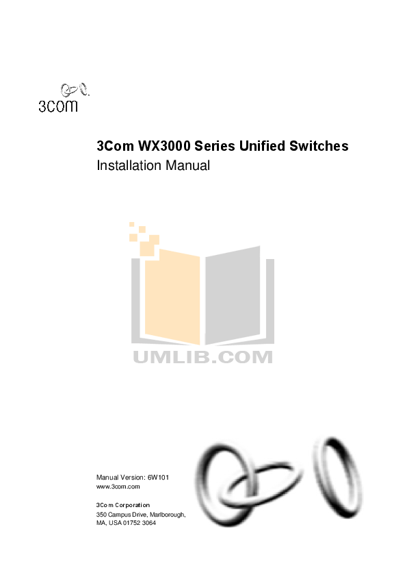 Download free pdf for 3Com WX3024 Switch manual