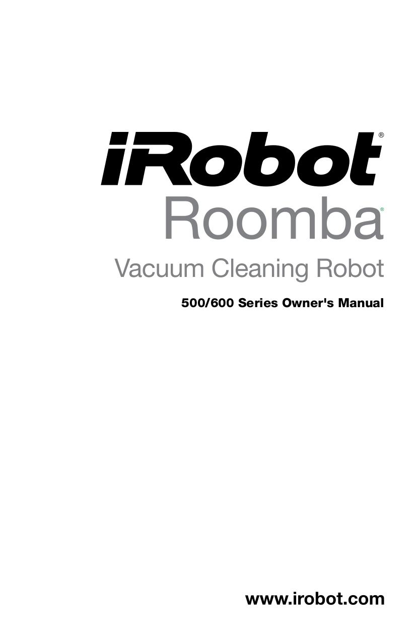 Download free pdf for iRobot Roomba 550 Vacuum manual
