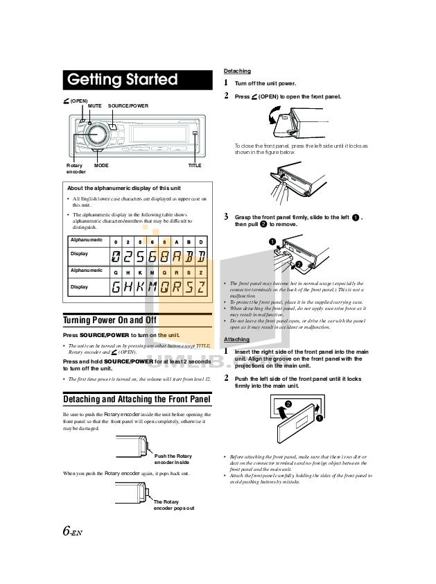 PDF manual for Alpine Car Receiver CHA-1214