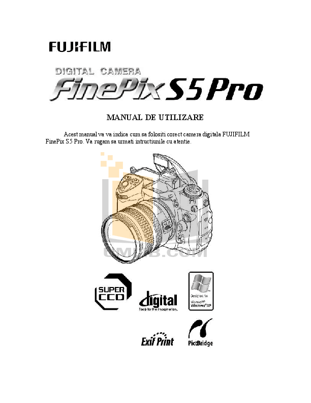 Download free pdf for FujiFilm Finepix S5 Pro Digital