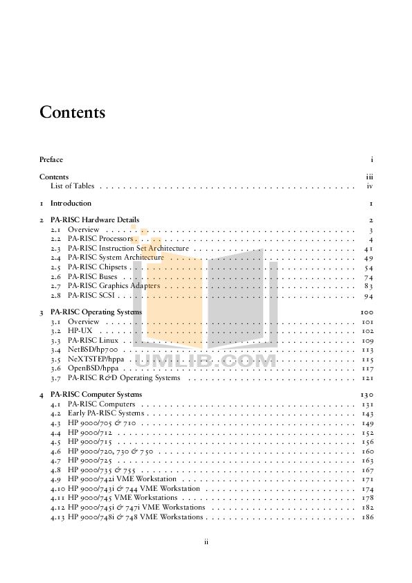 PDF manual for HP Desktop Visualize c180