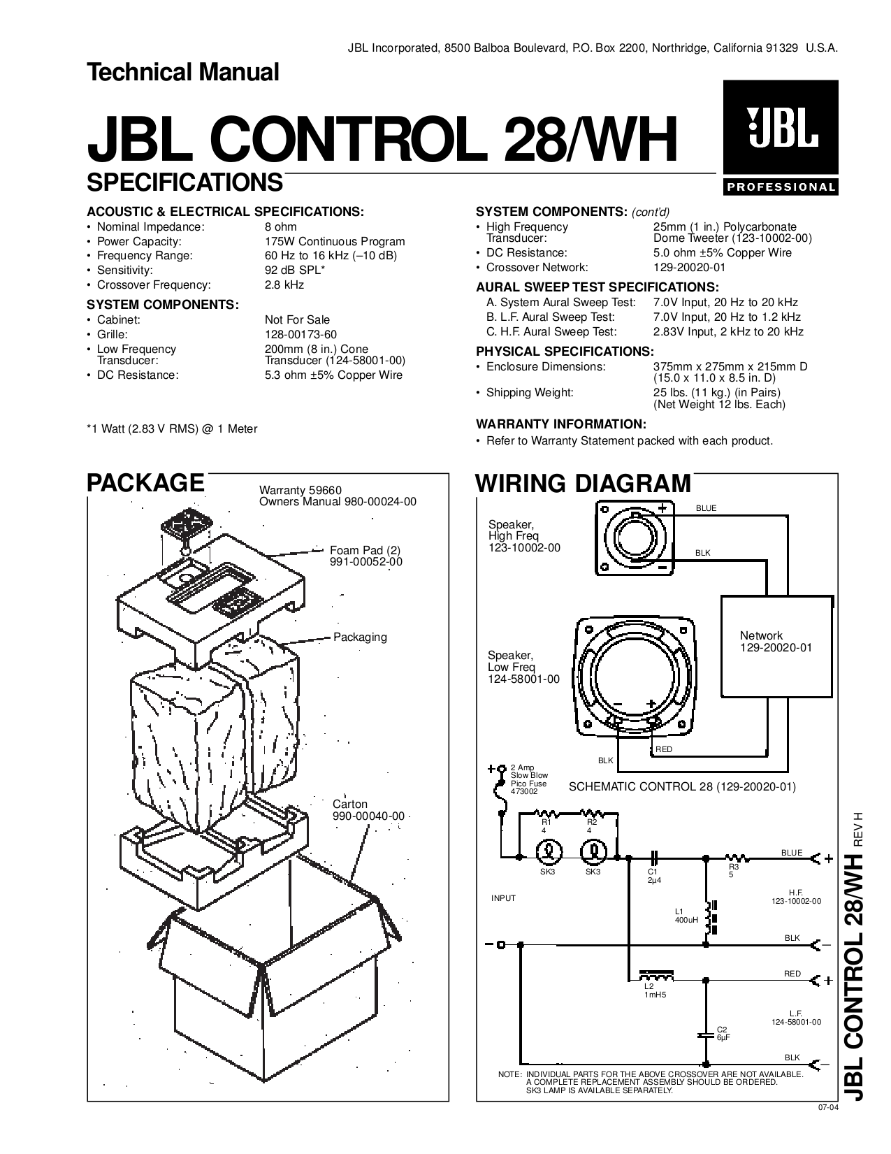 hight resolution of download free pdf for jbl control control 25 speaker manual jbl control 25 wiring diagram