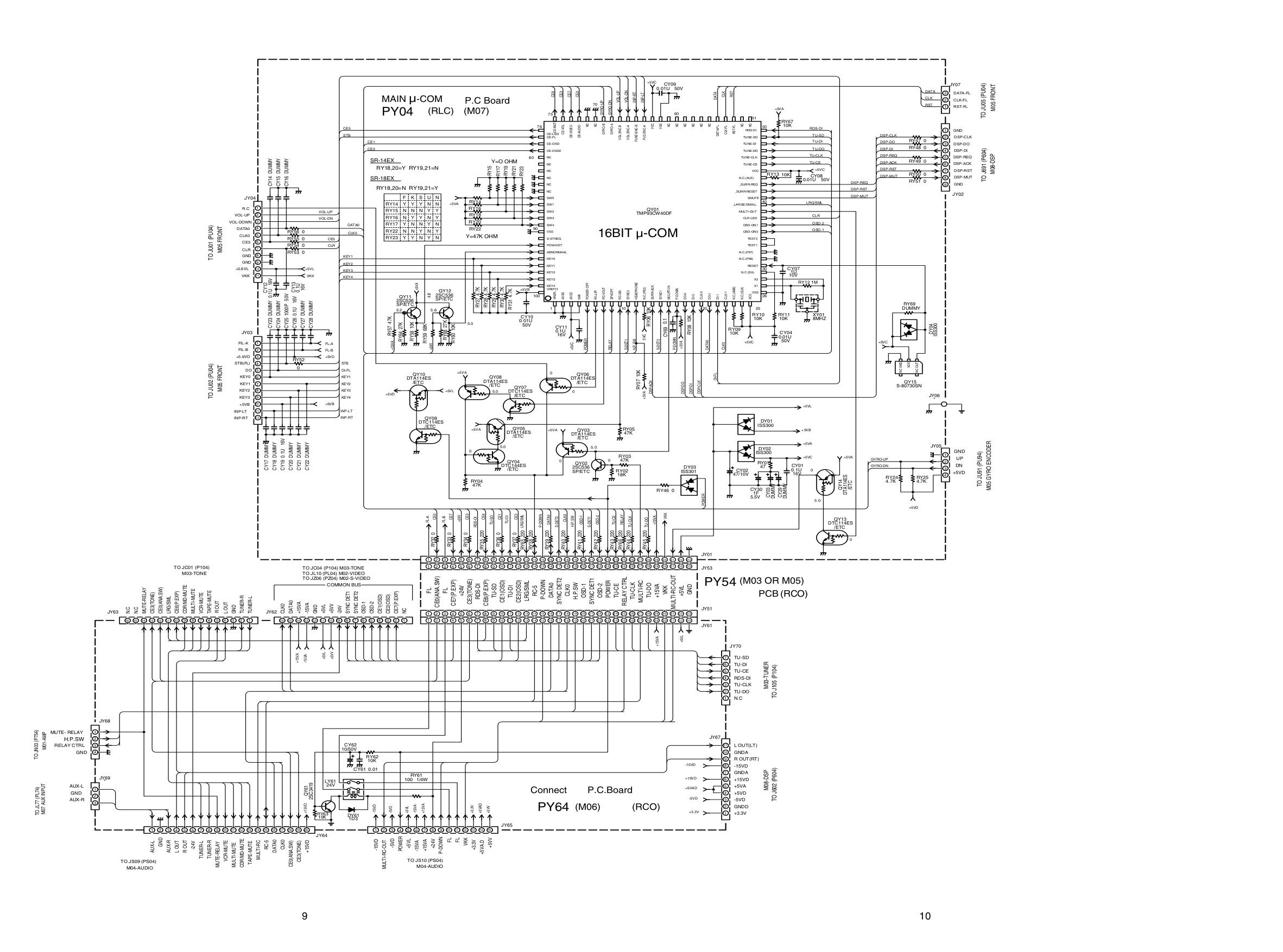 PDF manual for Marantz Receiver SR-14EX