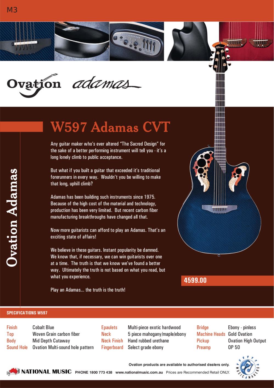 medium resolution of  ovation guitar custom elite lx pdf page preview