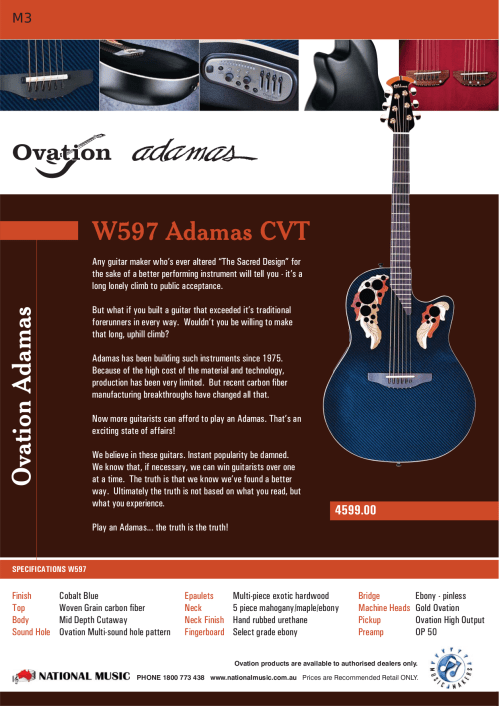 small resolution of  ovation guitar custom elite lx pdf page preview