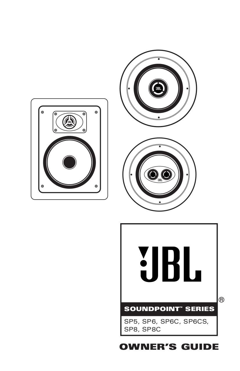 Download free pdf for JBL SP6CS Speaker manual
