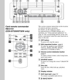 pdf manual for sony car receiver cdx gt120 rh umlib com sony xplod stereo wiring diagram sony cdx gt350mp wiring diagram [ 876 x 1240 Pixel ]