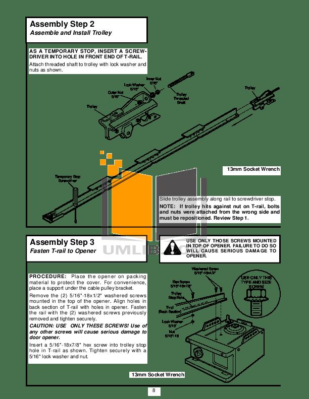 PDF manual for Chamberlain Other 4000E Garage Door Openers