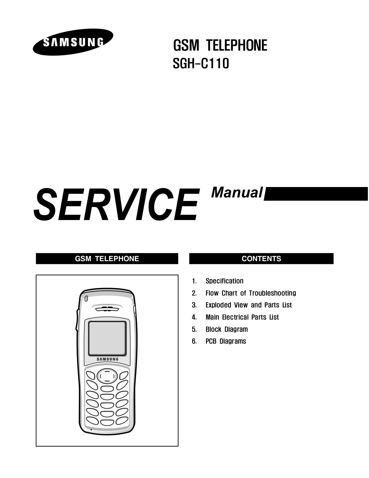 Download free pdf for Samsung SGH-C110 Cell Phone manual