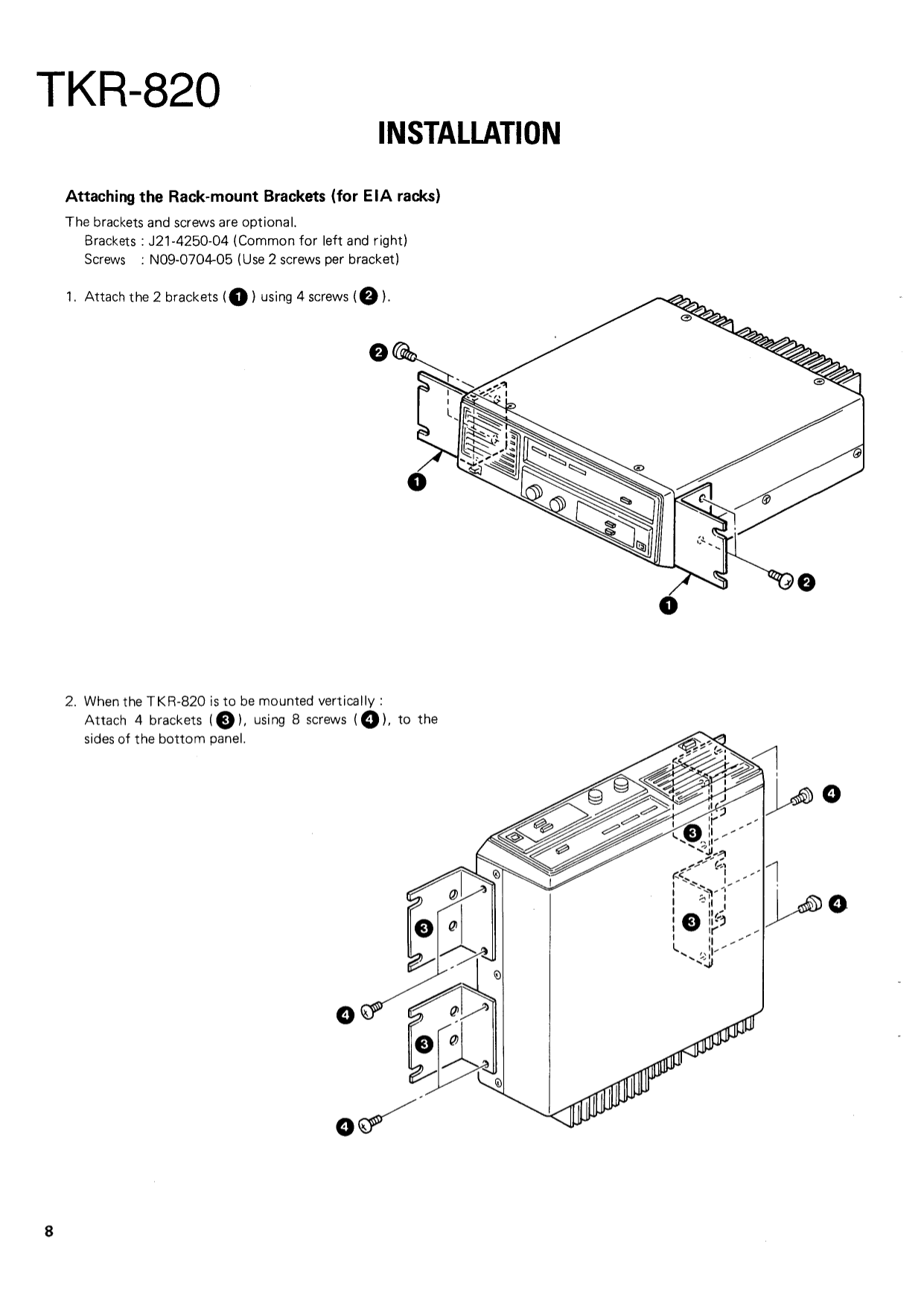 PDF manual for Kenwood Receiver KR-896