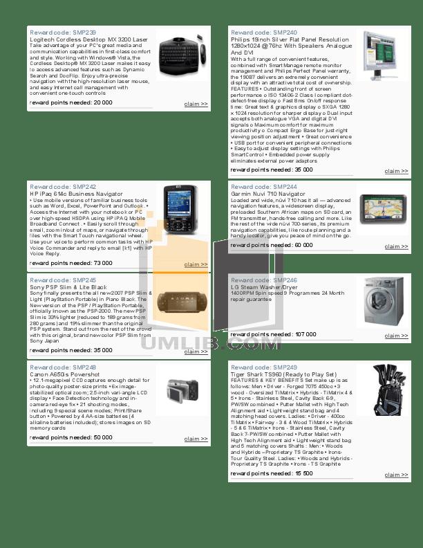 PDF manual for HP Desktop Pavilion 9710