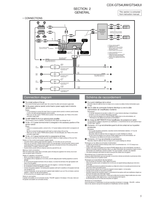 small resolution of sony cdx gt540ui wiring diagram simple wiring diagram schema wiring diagram for cdx gt700hd pdf