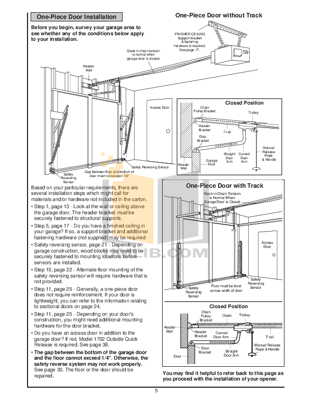 PDF manual for Chamberlain Other LiftMaster 1255-2R Garage