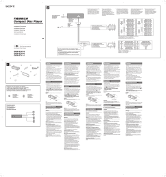 cdxgt 111 210 212 pdf 0 download free pdf for sony cdx gt210 car receiver manual sony [ 3643 x 3868 Pixel ]