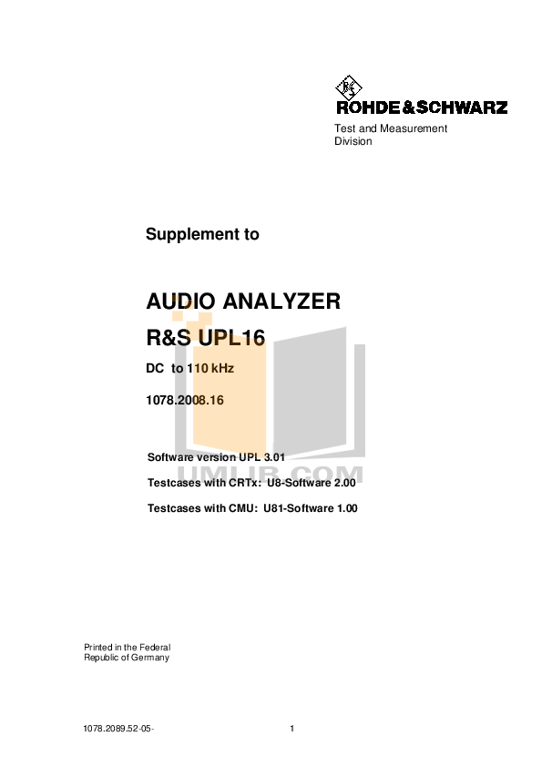 Download free pdf for Crown XLS 402 Amp manual