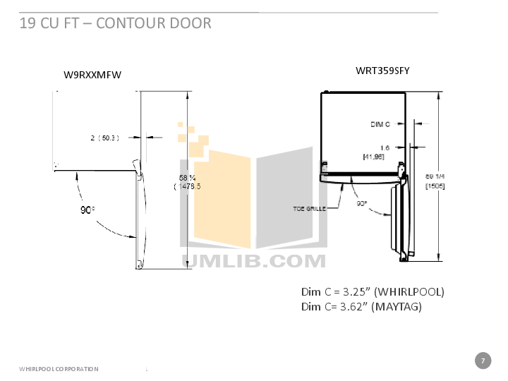 PDF manual for Amana Refrigerator A9RXNGFYS