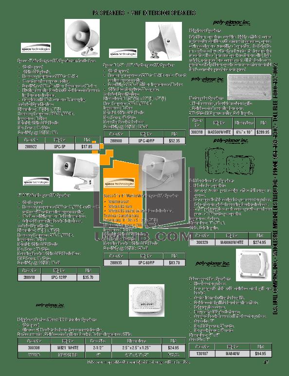 Download free pdf for Cobra microTALK CXT125 2-way Radio
