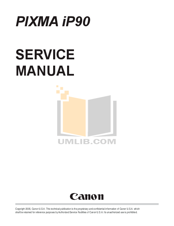 Canon ip90 manual