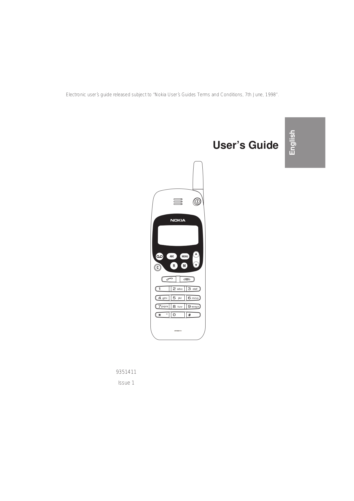 Download free pdf for Nokia 1611 Cell Phone manual