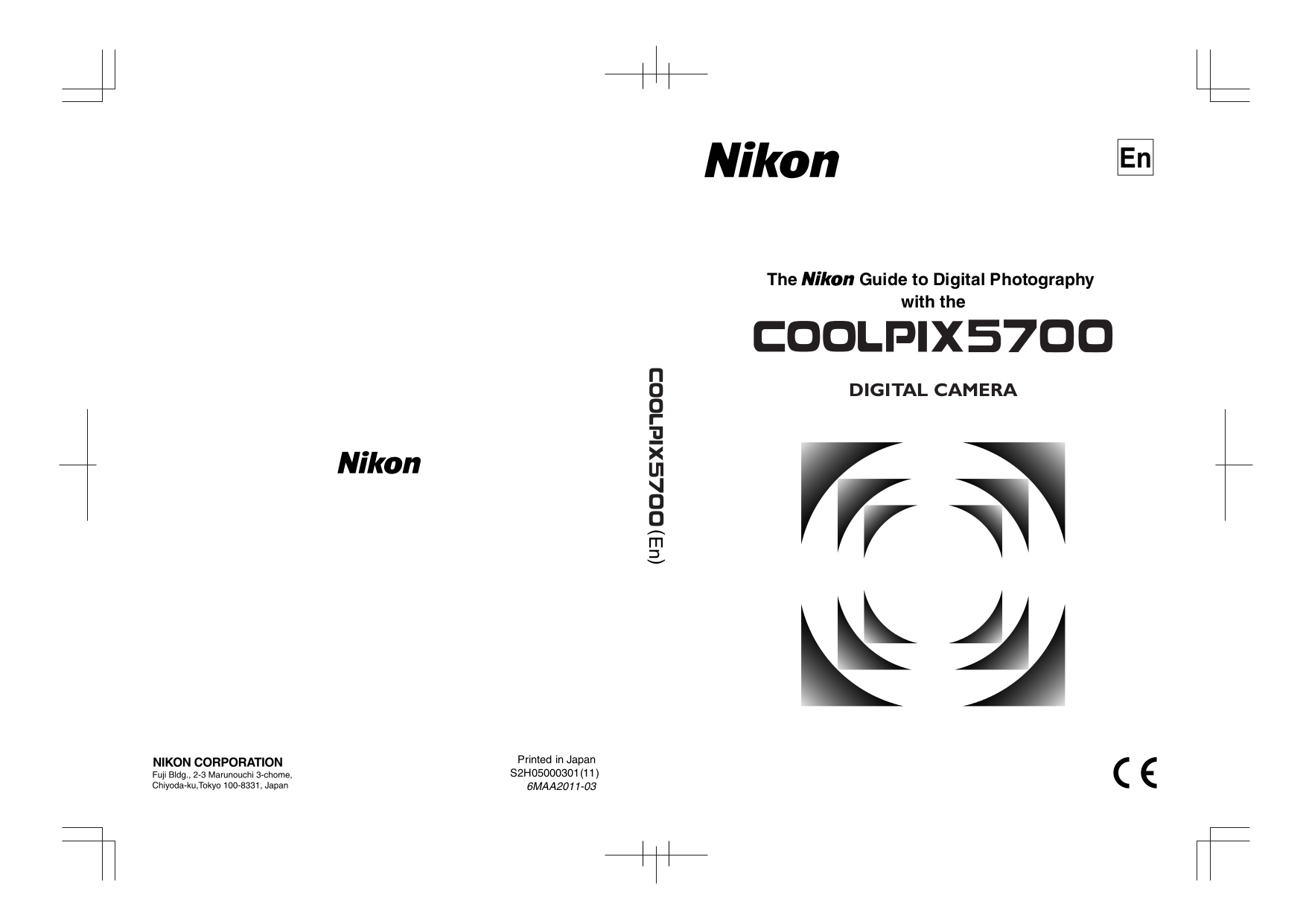Download free pdf for Nikon CoolPix 5700 Digital Camera manual
