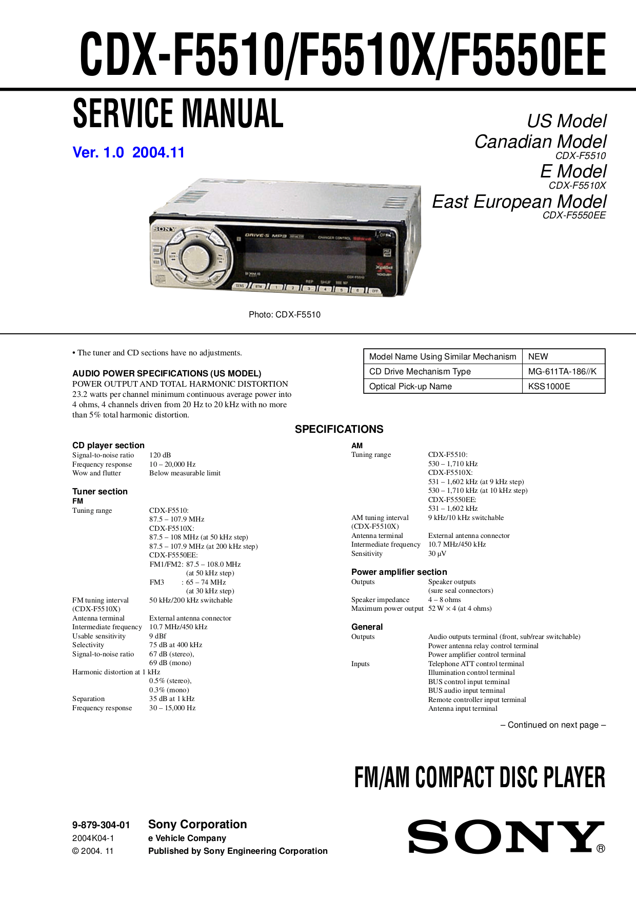sony cd player wiring diagram mr heater thermostat cdx f5510 29 images