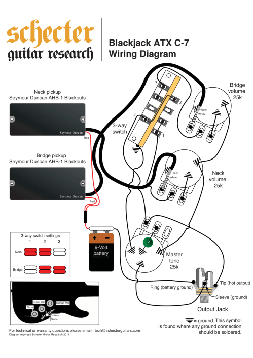 small resolution of schecter guitar blackjack atx c 1 pdf page preview