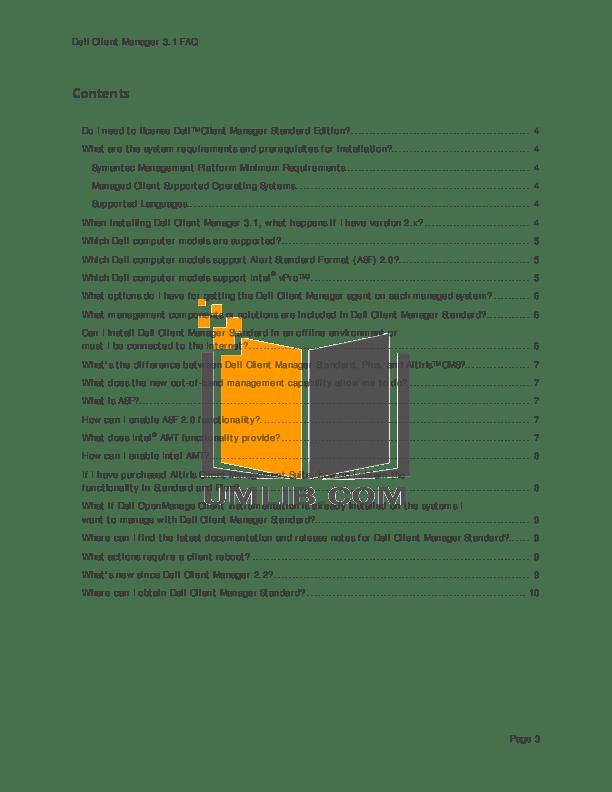 PDF manual for Dell Desktop Precision T3400