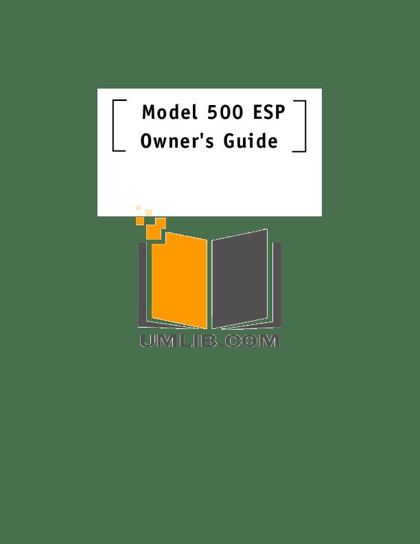PDF manual for DEI Other Viper 500ESP Car Alarms