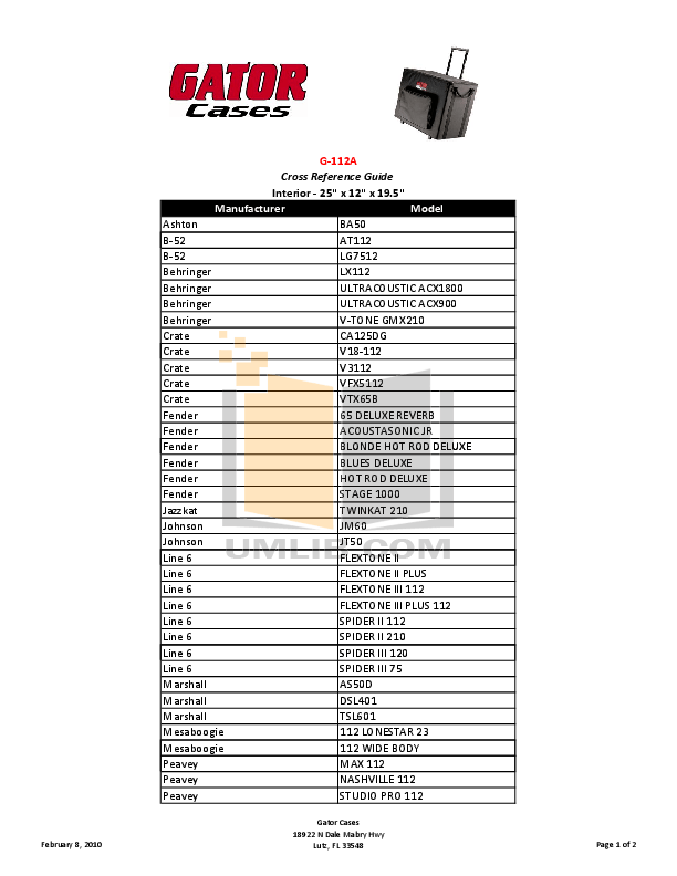 Download free pdf for Behringer Ultracoustic ACX900 Amp manual