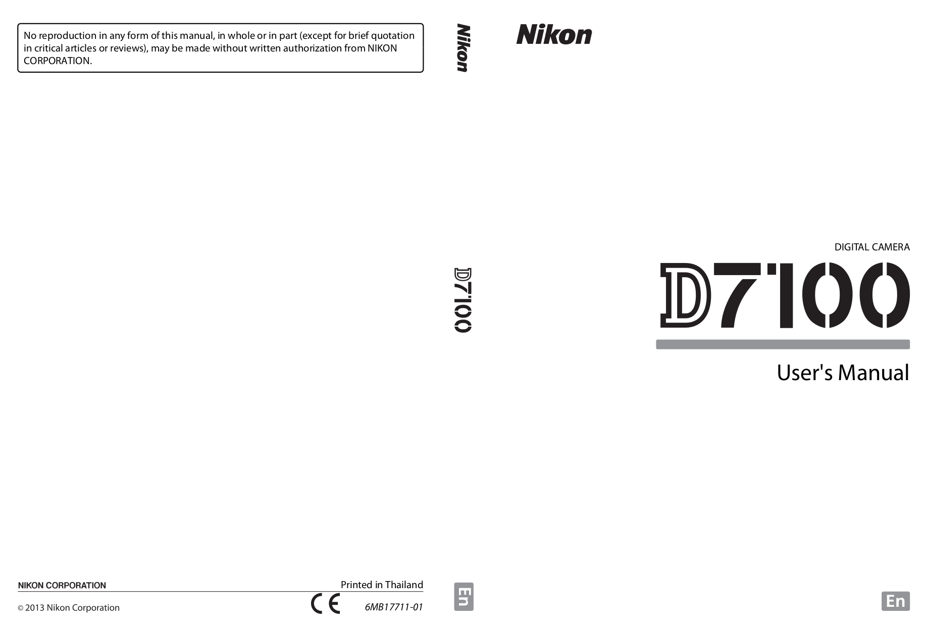 Download free pdf for Nikon D40 Digital Camera manual