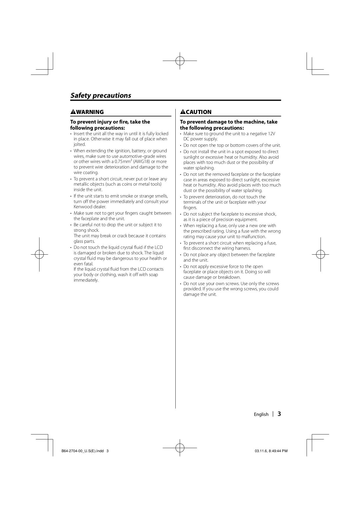 hight resolution of  kdc w6027 pdf 2 diagrams 6981008 kenwood kdc mp628 wiring diagram page 55 of kenwood