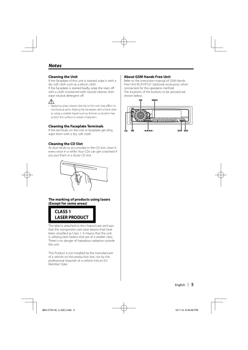 small resolution of kenwood car receiver kdc 128 pdf page preview