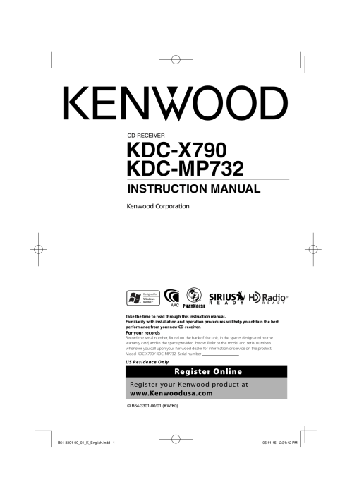 small resolution of pdf for kenwood car receiver kdc 128 manual