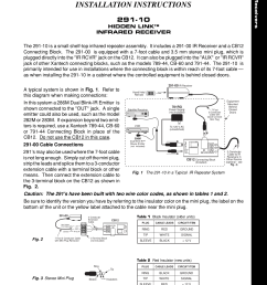 pdf for xantech other cb60 connecting blocks manual [ 1275 x 1651 Pixel ]