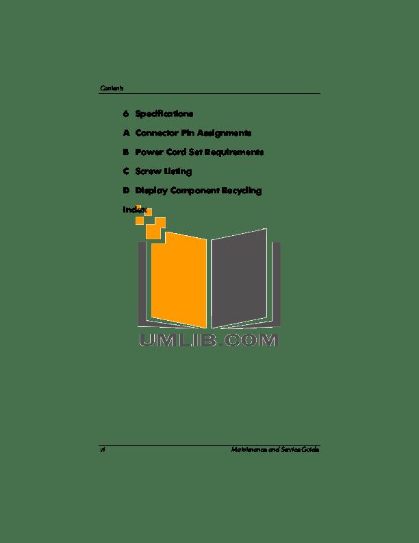 PDF manual for HP Desktop Pavilion 760