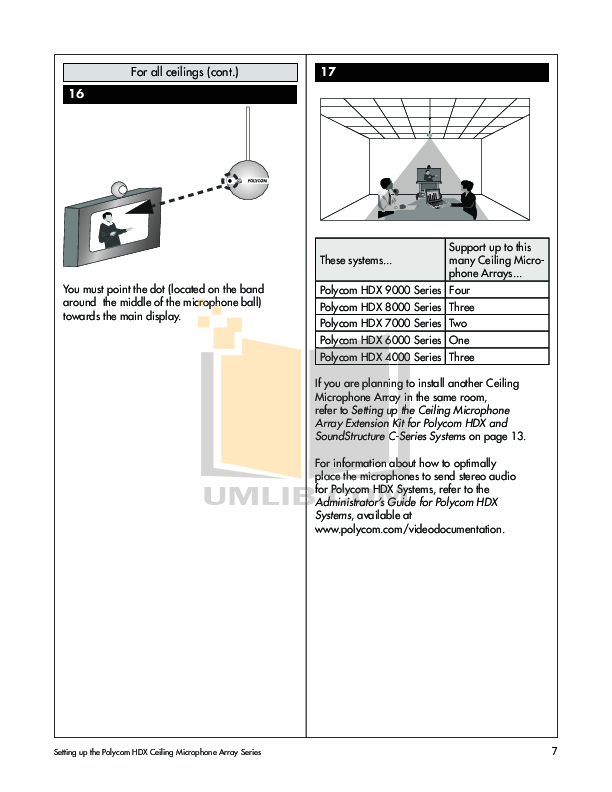 PDF manual for Crown Other PZM-11LL Microphones