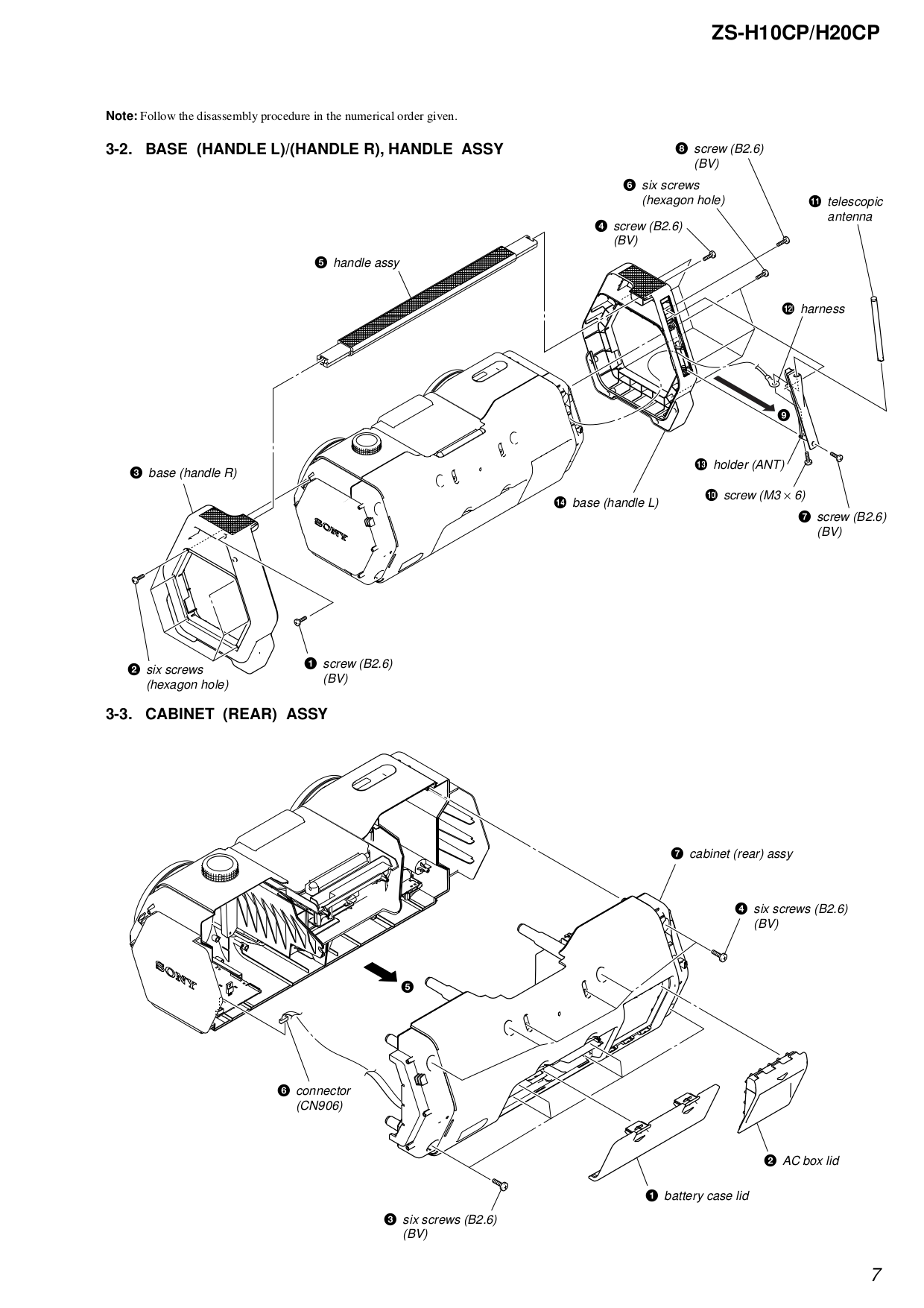 PDF manual for Sony Boombox CFD-S01