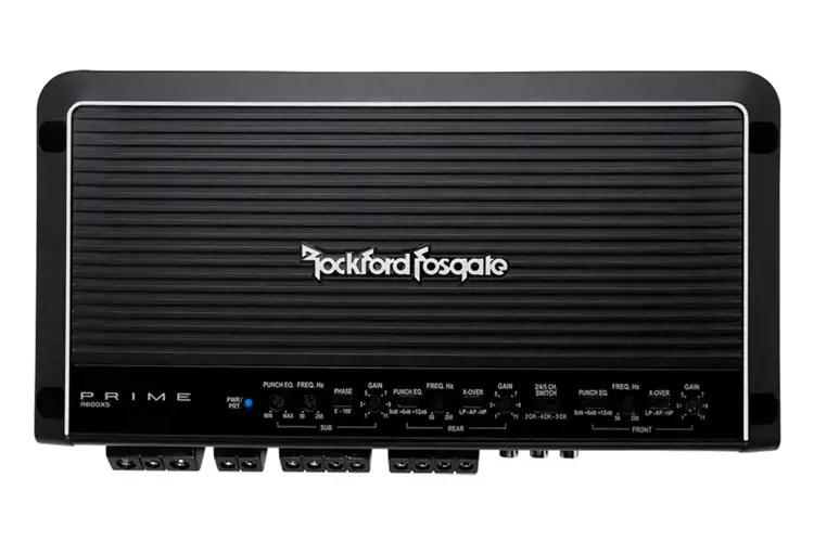 Rockford Fosgate R600X5 600W 5 Channel Amplifier With