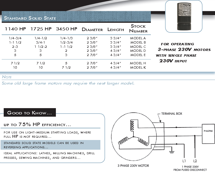 Solid State Phase Converters
