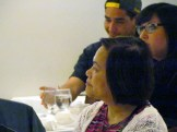 Flor Marcelino and other guests