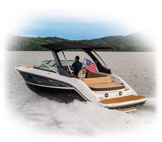 sea ray warranty house construction terms diagram slx 250 luxury bowrider 25 380hp boats quiet ride noise reduction makes it easy to hear just how thrilled your family is while the deluxe head ensures nobody s day needs end prematurely