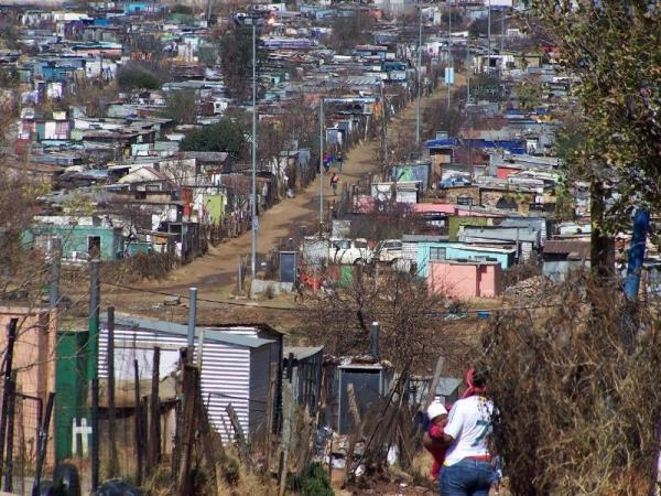 Soweto informal settlement, 2009